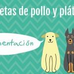 RECETAS DIY – Galletas de pollo y plátano