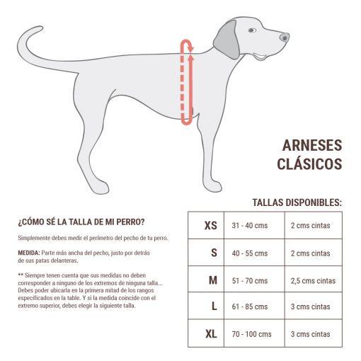 guia de tallas_arneses clasicos